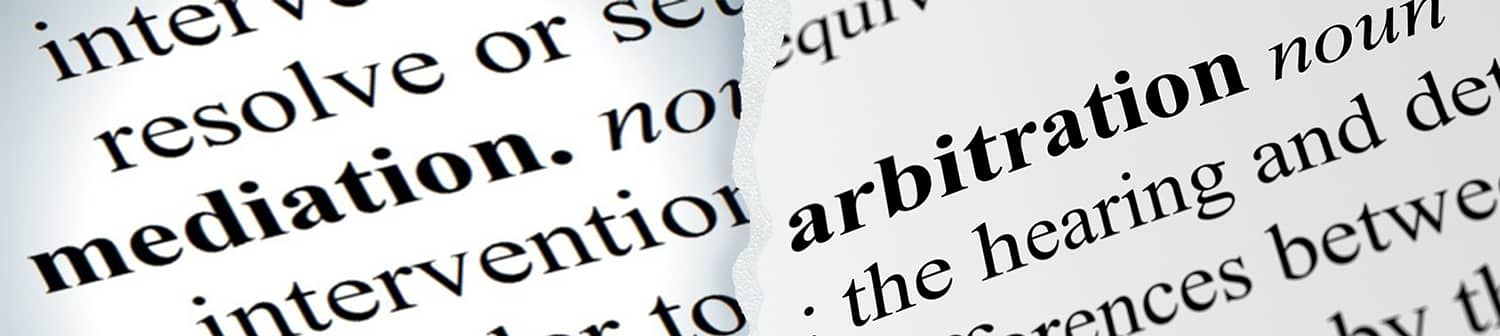 What's the difference between mediation and arbitration